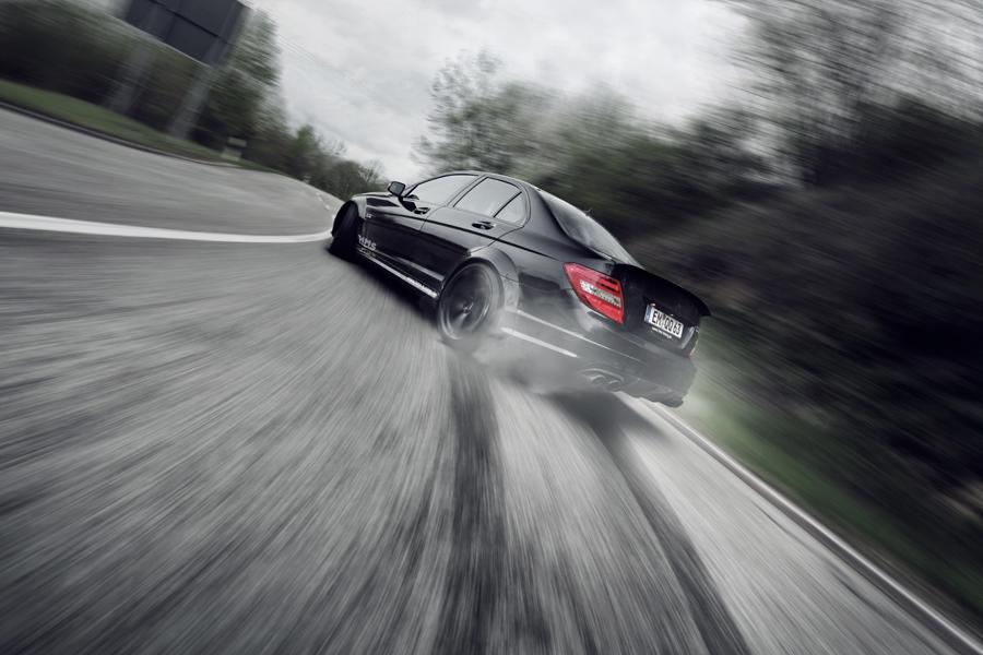 Mercedes C Kompressor  Performance